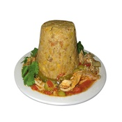 Mofongo - Stuffed with chicken